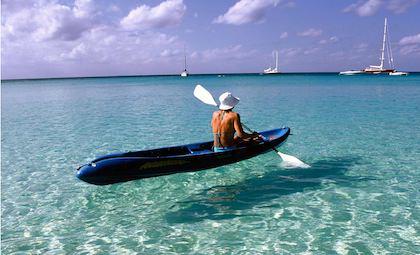 Anguilla klart vatten