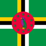 Flagga Dominica