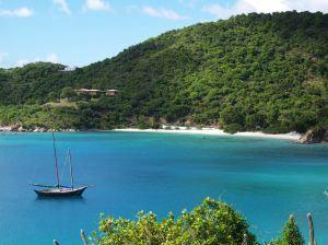 Segelbåt nära Virgin Islands