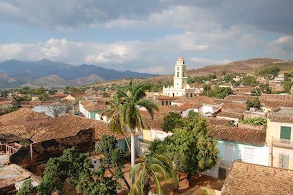 Utsikt över kubanskt landskap