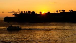Martinique solnedgång