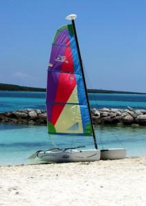 Segling kring Bahamas