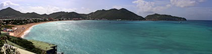 St Marteen panorama