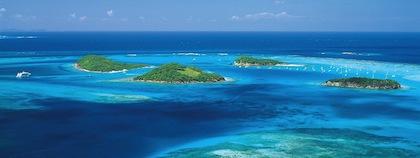 Härliga öar i Västindien