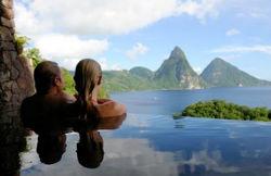 Romantiska Saint Lucia