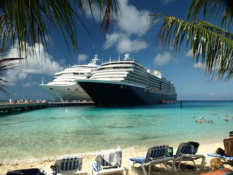 Kryssningsbåt Karibien