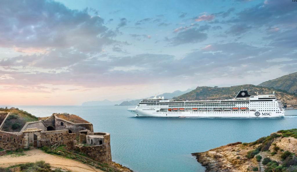 Kryssningsfartyg Karibien